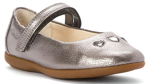 Clarks DANCE POP Silver Leather