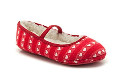 Clarks Flutter Dreams Red Fabric