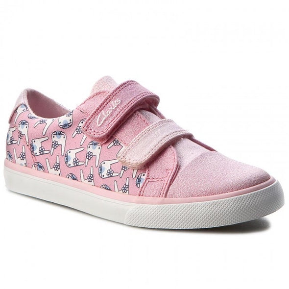 Clarks Gracie Pip Inf Pink Combi