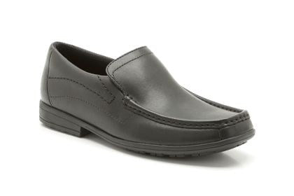 Clarks Greinton BL Black Leather
