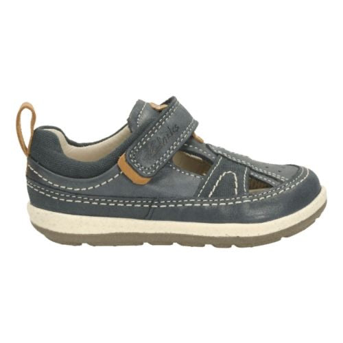 Clarks SoftlyLuke Fst Navy Leather