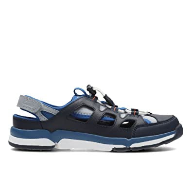 Clarks Tri Magic Jnr Navy