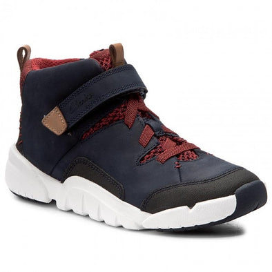 Clarks Tri Mimo Inf Navy Leather