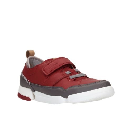Clarks Tri Scotty Inf Red Combi