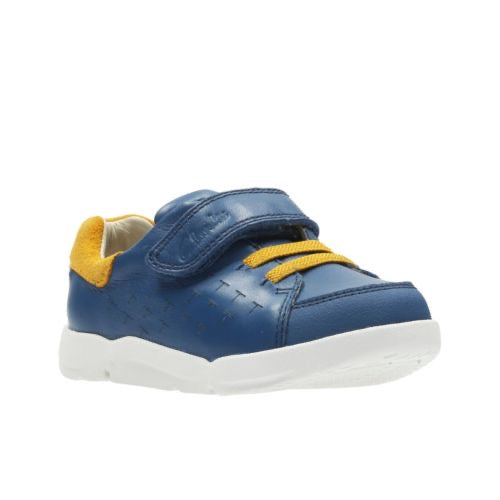 Clarks Tri Spin Fst Blue Leather