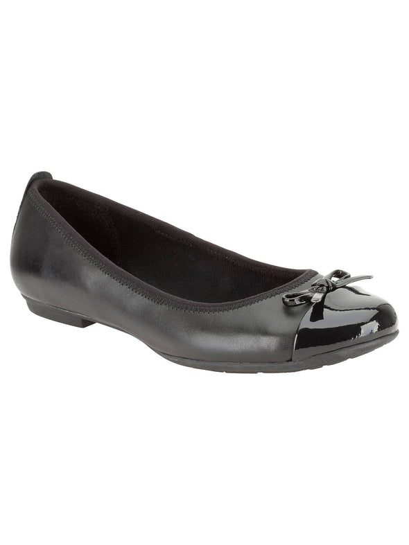 Clarks Una Ivy BL Black Leather