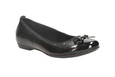 Clarks Tizz Hope BL Black Leather