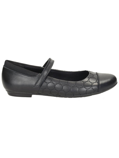 Clarks Tizz Whizz BL Black Leather