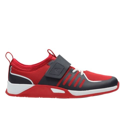 Clarks Trace Fire Jnr Red