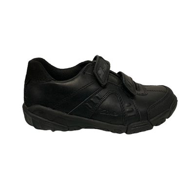 Clarks GALAXYSPIN INF Black Leather