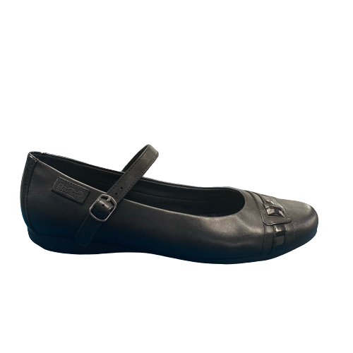 Clarks NO POINTE BL Black Leather