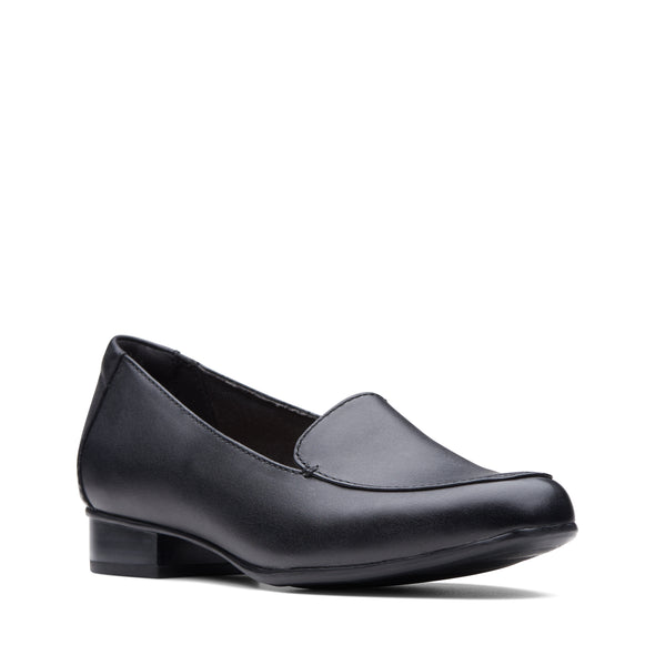 Clarks Juliet Lora Black Leather