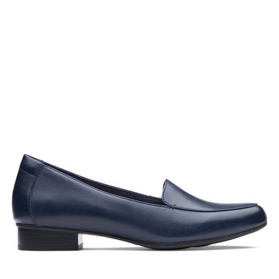 Clarks Juliet Lora Navy Leather