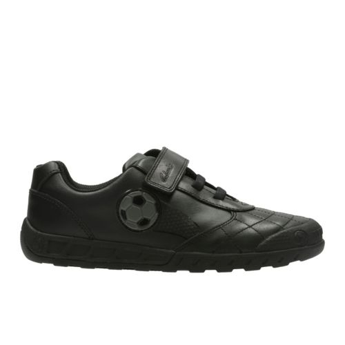 Clarks LeaderGame Inf Black Leather