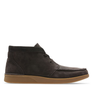 Clarks Oakland Top Dark Brown Comb