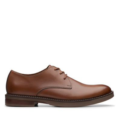 Clarks Paulson Plain Tan Leather