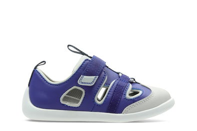 Clarks Play Bright T Blue Synthetic