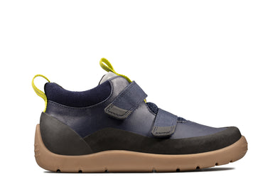 Clarks Play Hike K Navy Leather