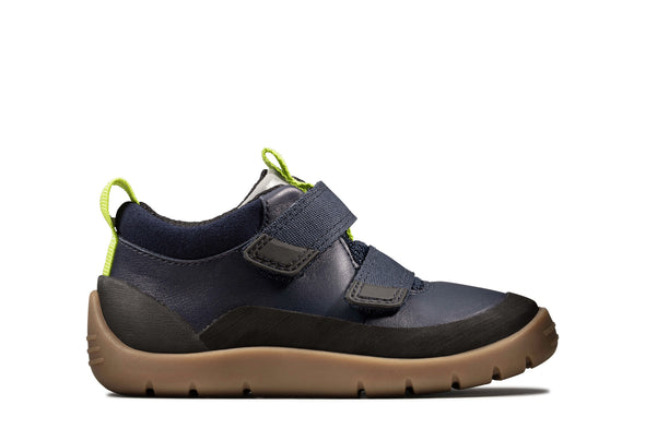 Clarks Play Hike T Navy Leather