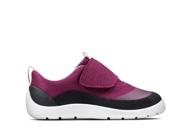 Clarks Play Trail T Pink Synthetic