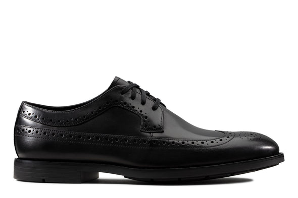 Clarks Ronnie Limit Black Leather
