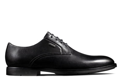 Clarks Ronnie WalkGTX Black Leather