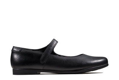 Clarks Scala Pure Y Black Leather