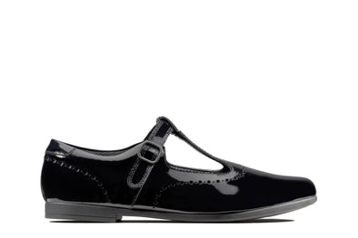 Clarks Scala Seek K Black Pat