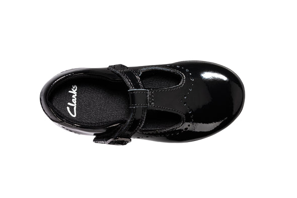 Clarks Scala Seek T Black Pat