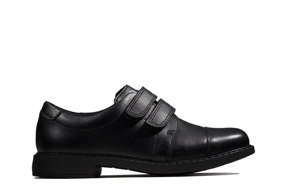Clarks Scala Skye K Black Leather