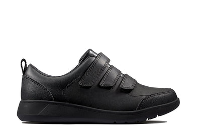 Clarks Scape Sky Y Black Leather