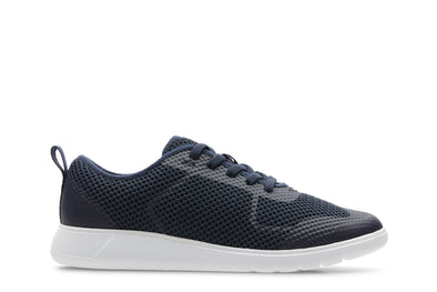 Clarks Scape Soar K Navy Synthetic