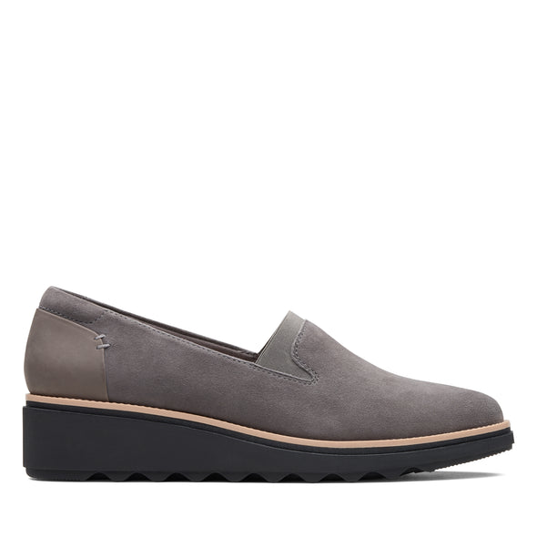 Clarks Sharon Dolly Grey Suede