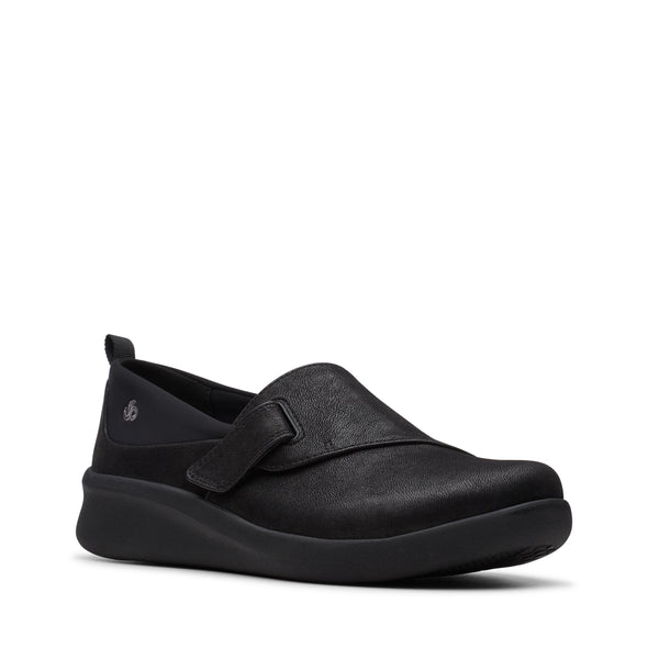 Clarks Sillian2.0Ease Black Synthetic