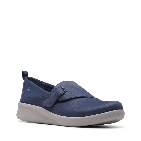 Clarks Sillian2.0Ease Navy Synthetic