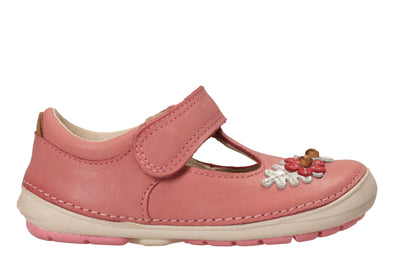 Clarks Softly Blossom Baby Pink Lea