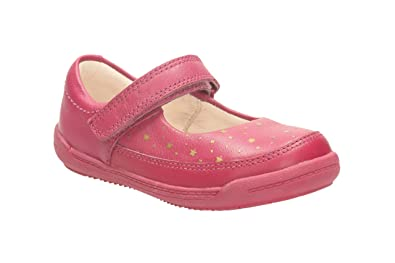 Clarks Softly Ida Fst Berry Leather