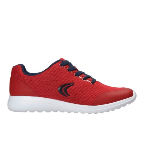Clarks SprintFree Jnr Red Combi