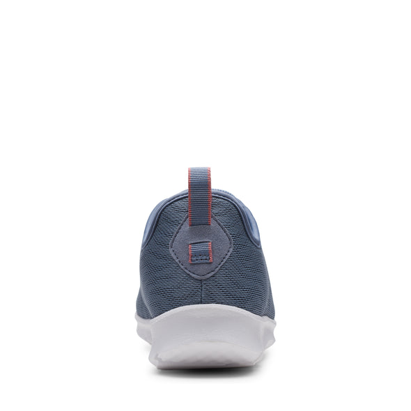 Clarks Step Allena Go Blue Grey