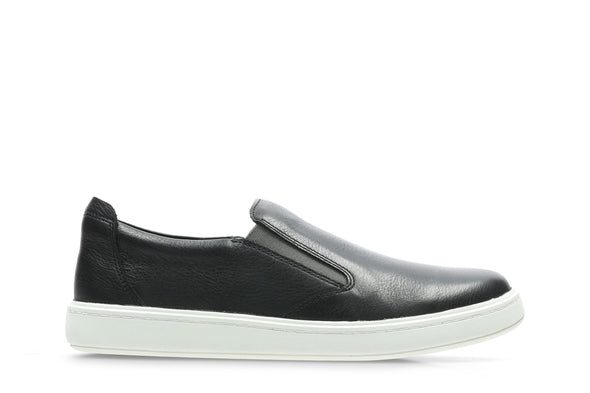 Clarks Street Verve K Black Leather