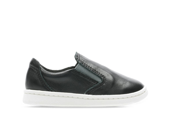 Clarks Street Verve T Black Leather