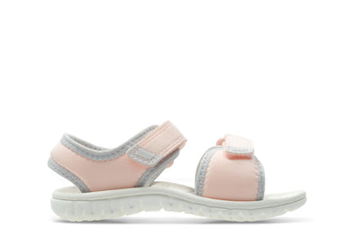 Clarks Surfing Tide T Pink Synthetic
