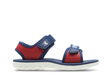 Clarks Surfing Web K Red