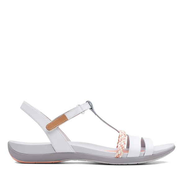 Clarks Tealite Grace White Leather