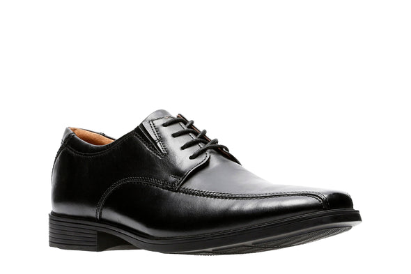 Clarks Tilden Walk Black Leather