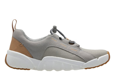 Clarks Tri Weave. Grey Leather