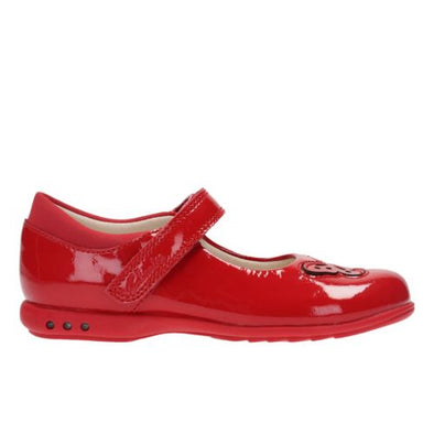 Clarks Trixi Wish Inf Red Patent
