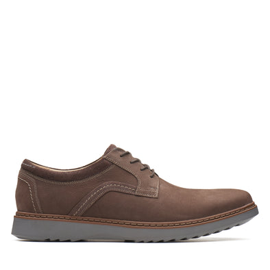 Clarks Un Geo Lace Dark Brown Nub