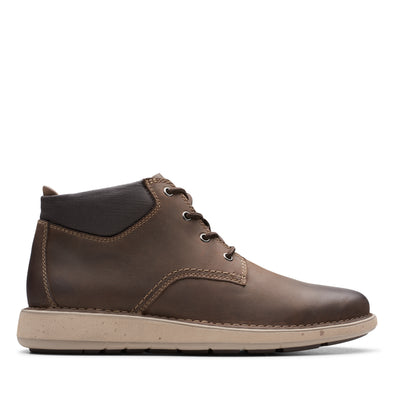 Clarks Un Larvik Top Brown Leather