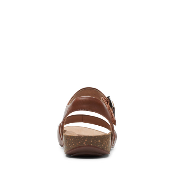 Clarks Un Perri Way Dark Tan Lea